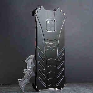 Image 2 - For HUAWEI Mate 30 Pro Case Batman Armor Aluminum Metal For P40 P30 P20 20 Pro 20X 5G lite nova 6 7 se Case Shockproof Coque