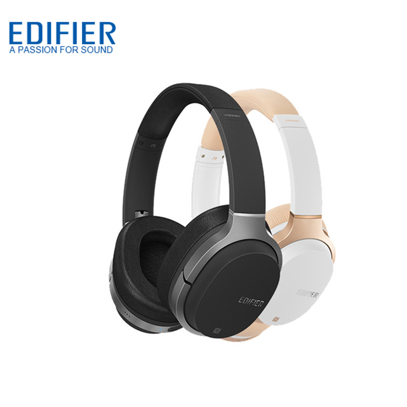 EDIFIER W830BT Bluetooth Headphones Deep Bass Wireless Bluetooth V4 1 Headphone with aptX NFC for iphone