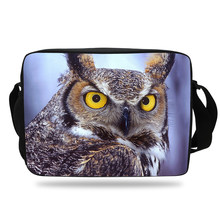 626ba702f39f Kids Cute Zoo Bag Animal prints Owl Messenger Bag For Girls Crossbody  School Bag Purple High School Boys and Women Teenagers