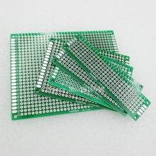 5PCS/Lot PCB Kit 7x9 5x7 4x6 3x7 2x8cm Double Side Copper Prototype pcb Universal Board electronic diy kit
