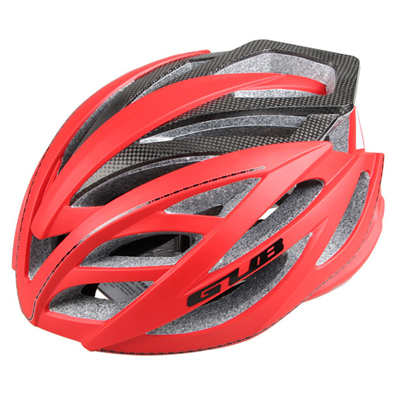 GUB PRO Upgrade 60% Safety Carbon Fiber Bicycle Helmet Cycling Helmet City Road Bike Helmets Racing Sports Helmet Design