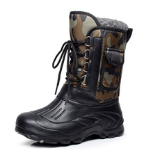 Außen Neue Männer-In-rohr Schneeschuhe Wasserdichte Rutschfeste Komfortable Baumwolle Werkzeug Stiefel Warme Schuhe Angeln stiefel Größe 41-46