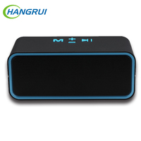 Hangrui C200 Wireless Bluetooth Speaker Mini Portable Handsfree Microphone Speaker Outdoor Subwoofer With TF FM Radio