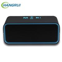 Hangrui C200 Wireless Bluetooth Speaker Mini Portable Handsfree Microphone Speaker Outdoor Subwoofer With TF FM Radio