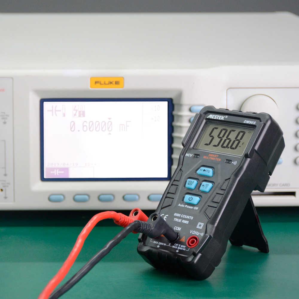 MESTEK DM90S 고속 멀티 미터 디지털 멀티 미터 자동 범위 테스터 멀티 미터보다 DM90A 멀티 미터 멀티 테스터