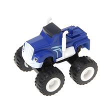Top Selling 1pcs Blaze Machines Vehicle Toy Racer Cars Truck Transformation Toys Gifts For Kids