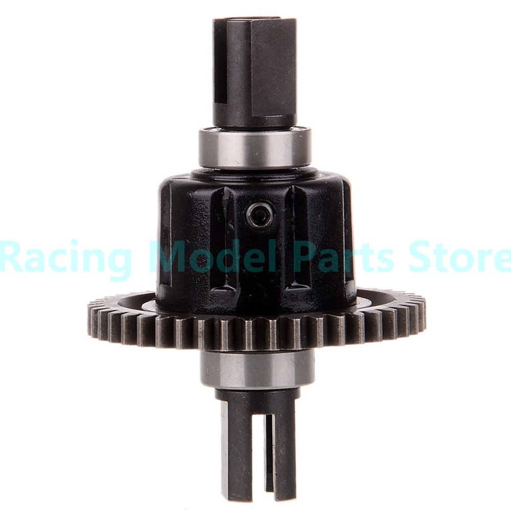 60065 Differential Gear Set For HSP RC 1/8 Model Car Spare Parts 94760/94761/94763 hsp 02024 differential diff gear complete 38t for 1 10 rc model car spare parts fit buggy monster