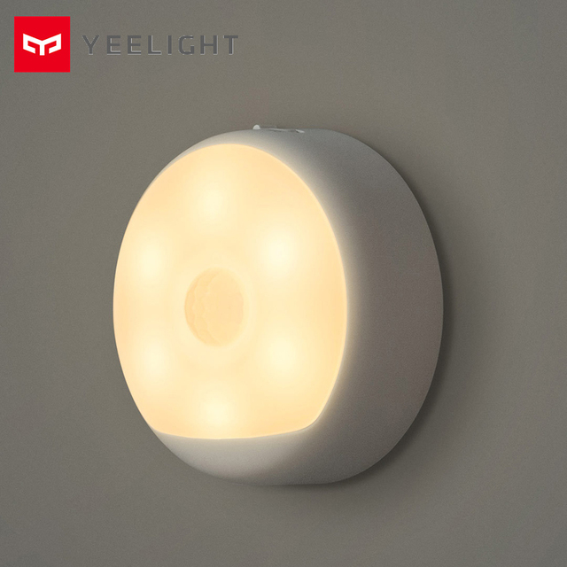 New Xiaomi Mijia Yeelight LED Night Light Infrared Magnetic with hooks remote Body Motion Sensor For Xiaomi Smart Home #