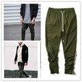 High Quality Kanye Yeezy Men Pants Hip Hop Skateboard Tour Trousers Yeezy West Harem harajuku Autumn Winter Army Yeezus Pants