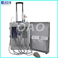DEASIN Design Portable Dental Unit with Built in Ultrasonic Scaler & Oiless Air Compressor Motor for Dental Hospital, Clinics