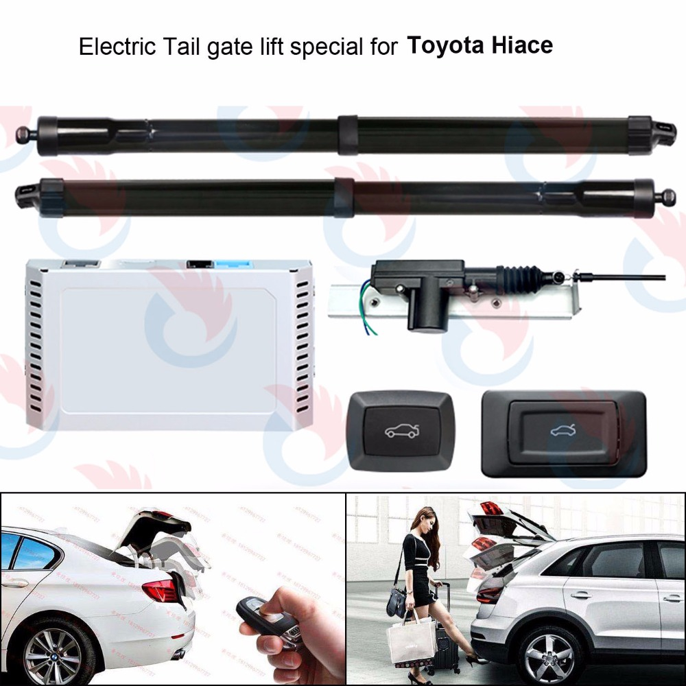 Electric Tail Gate Lift for Toyota Hiace standard version with easy closer 2012 2017 Control