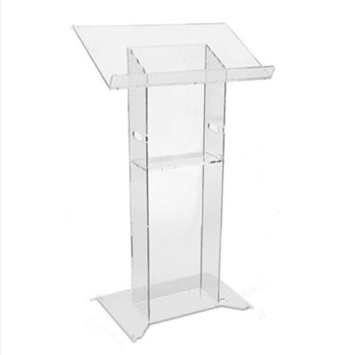 Acrylic Stand Clear Acrylic Lectern Cheap Church Podium Pulpit Lectern
