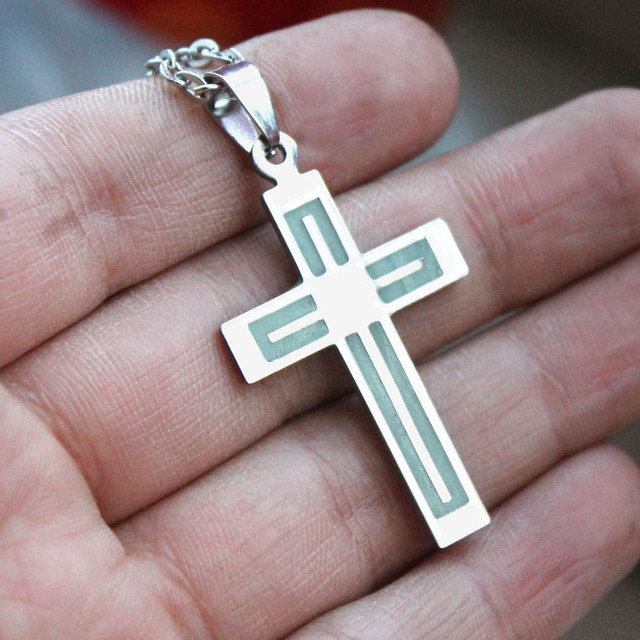 Christian Crucifix Glowing In The Dark