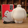 Big Hero 6 Baymax LED desk light Scalable learning energy-saving lamp eye super Corps lamp LED white lamp third