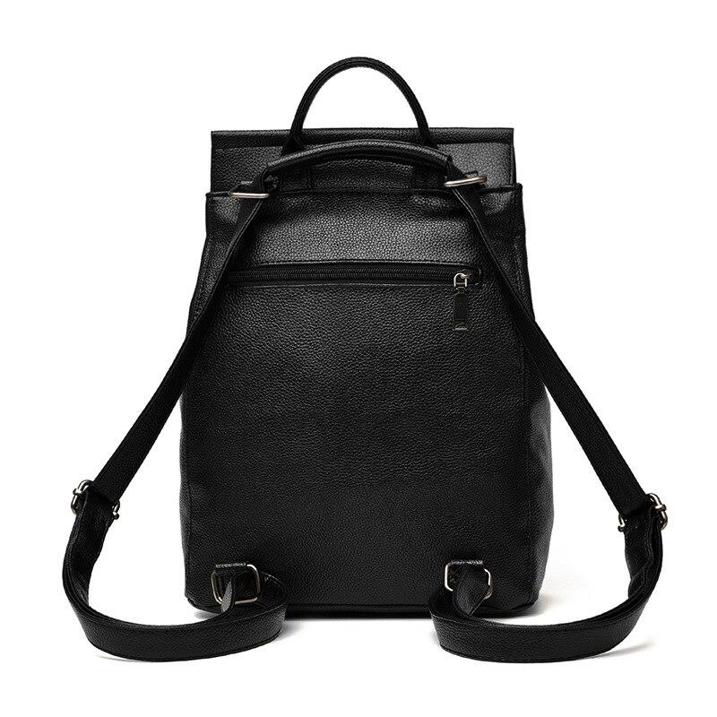 adolescentes meninas sólida minimalista preto Tipo de Ítem : Backpacks