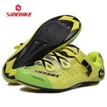 2017 New Style SIDEBIKE Professional Bicycle Bike Shoes Men Women Cycling Shoes Road Bike Racing Sports