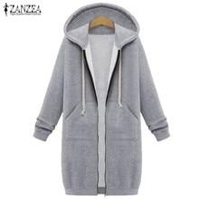 2020 Autumn Winter ZANZEA Women Hoodies Sweatshirt