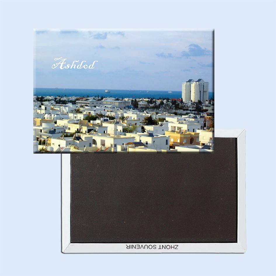 JERUSALEM City Scape Travel Souvenir Flexible Fridge Magnet