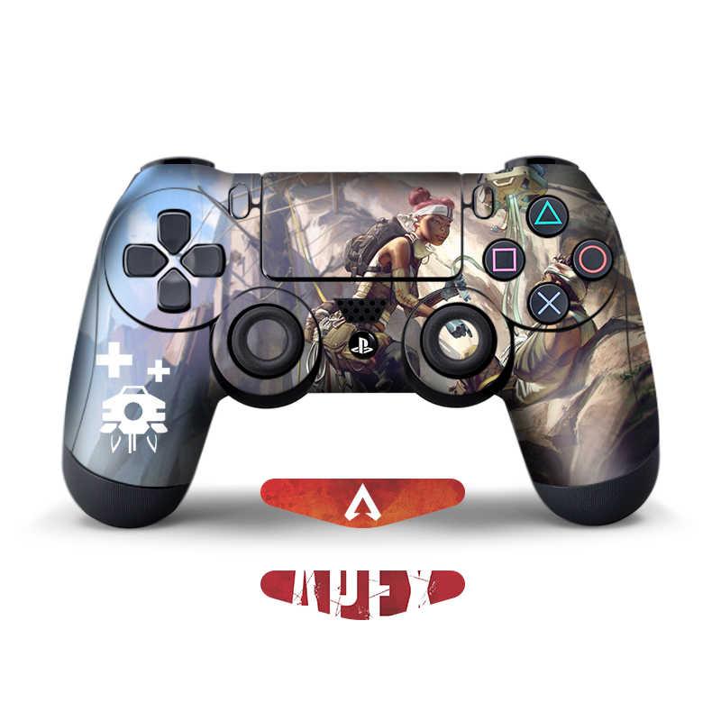 Данных лягушка 2 шт наклеек для Apex легенды контроллера для Sony Playstation4 игровой контроллер для PS4 тонкий поляризационный фильтр Pro наклейки