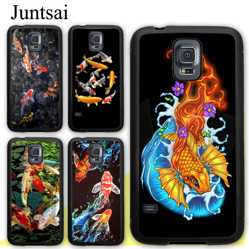 Cellphones & Telecommunications Adroit Juntsai Koi Carp Fish Cell Phone Cases For Samsung Galaxy S5 S6 S7 Edge S8 S9 S10 Plus Lite Note 9 5 8 Back Cover Coque Rapid Heat Dissipation Fitted Cases