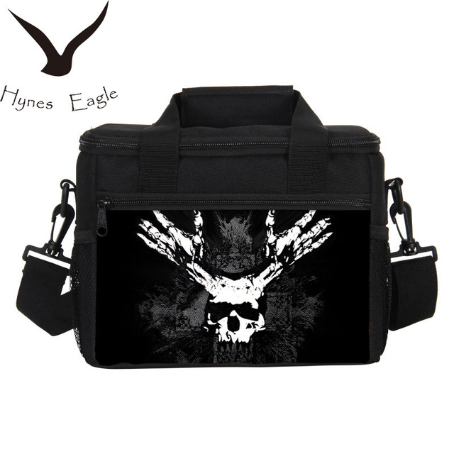 Hynes Eagle Vintage Printed Lunch Bags Thermo Insulated Cooler Bags