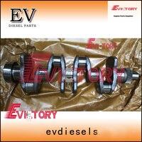 Для Yanmar погрузчик Двигатель и экскаватор Сталь 4TNV94 4TNV94L 4tnv94t коленчатого вала с редуктором