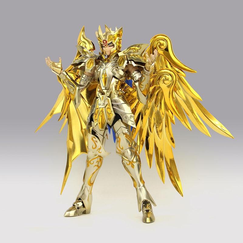 Great Toys GT Soul Of Gold Gemini SaGa Saint Seiya Metal Armor Myth Cloth Action Figure Collection Model Toys saint seiya legend of sanctuary saga cosplay costume