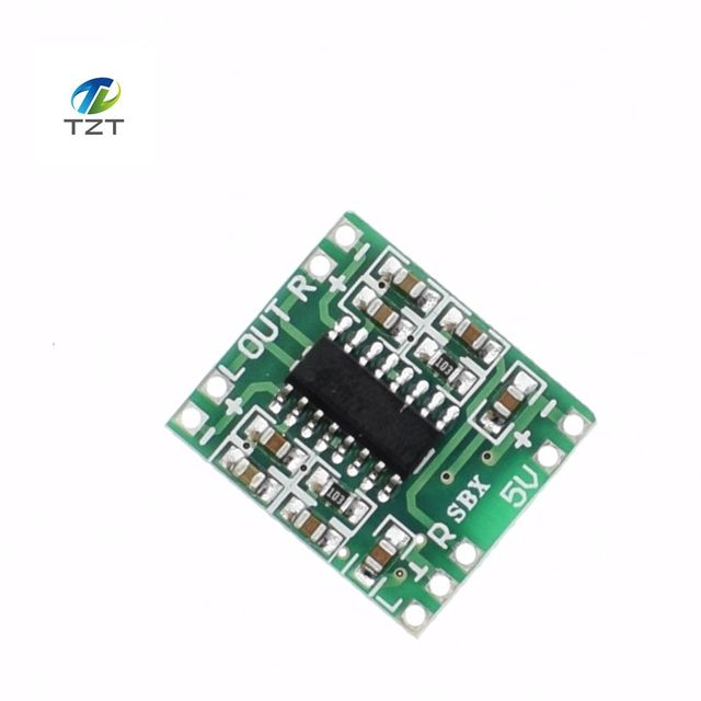 10PCSPAM8403 módulo amplificador de potencia digital Placa de amplificador de potencia miniatura Clase D 2*3 w alto 2,5 5 V potencia USB