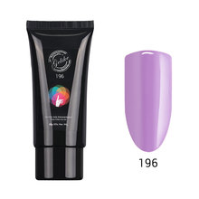 ILAC GEL Nail Art Poly Nail Gel French Nail Constraction Builder Jelly Poly Gel Brush Acrylic 60g