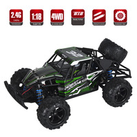 RC Car 50 km/h 2.4G 4WD RC Rock Driving Crawlers Remote Control Car Drive Model Off Road Vehicle Toy RC Car Education gift Boys