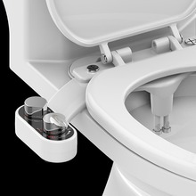 Non-Electric Bidet Toilet-Seat Water-Bidet-Sprayer Mechanical Bidet-Attachment Self-Cleaning