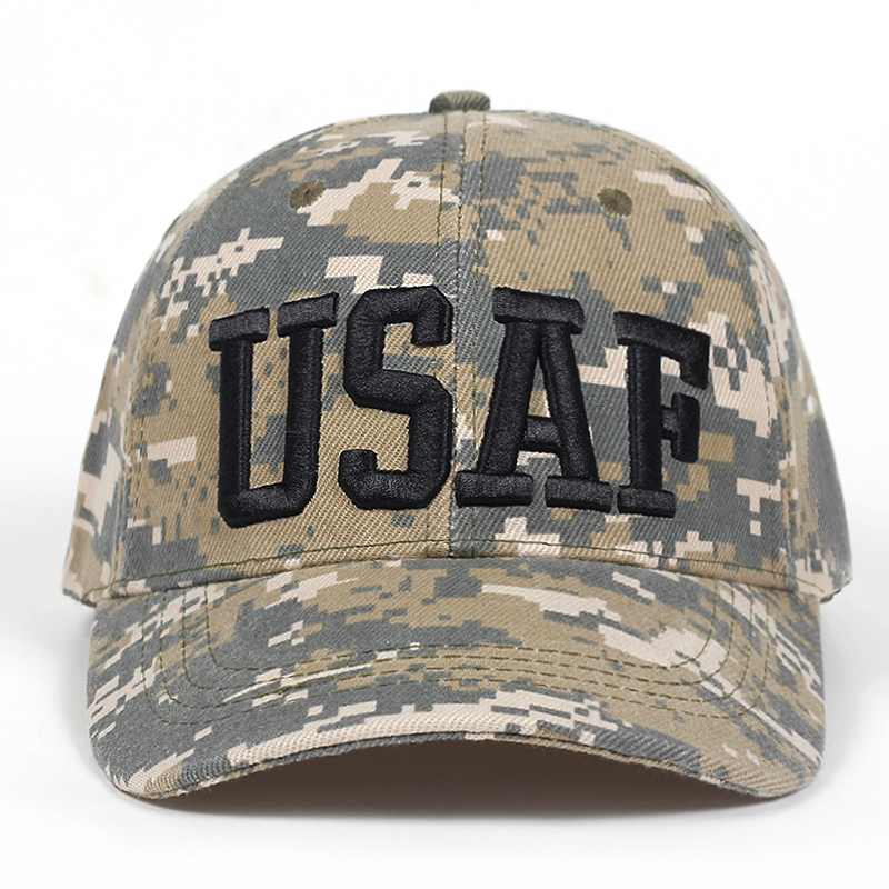 2d579decadb 2019 New Brand Camouflage Baseball Cap Men US Army Tactical Snapback  Trucker Cap