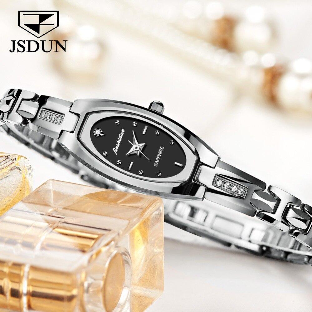 JSDUN женские часы женские модные часы 2019 Geneva дизайнерские женские часы люксовый бренд бриллиантовые кварцевые наручные часы женские - 2