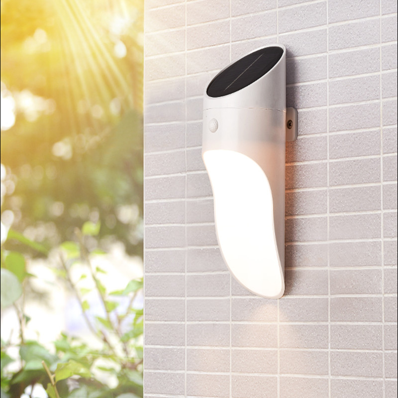 Outdoor Garden Solar Panel Radar Sensor Light LED Street Home Wall Waterproof Lamp Balcony Courtyard Energy Saving Garland