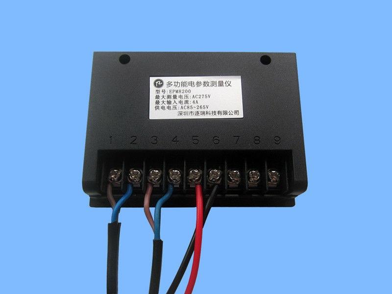 EPM8200 AC teljesítménymérő digitális wattmérő kwh méter - Mérőműszerek - Fénykép 2