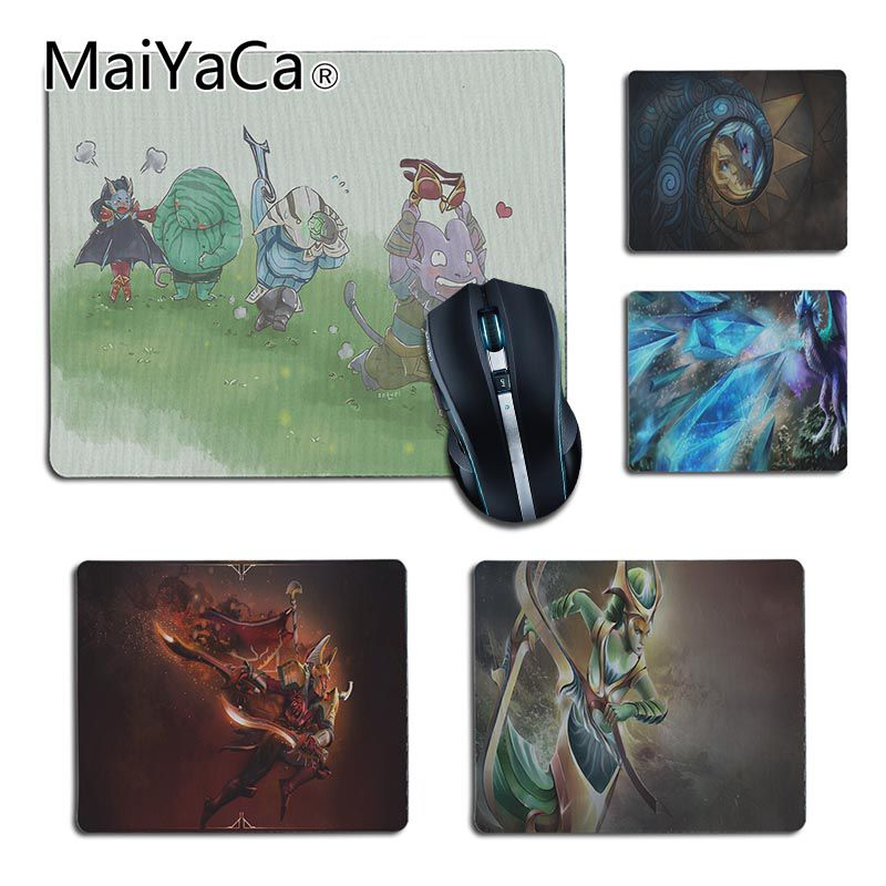MaiYaCa In Stocked DOTA Io Comfort small Mouse Mat Gaming Mouse pad Size 25x29cm 18x22cm Rubber Mousemats