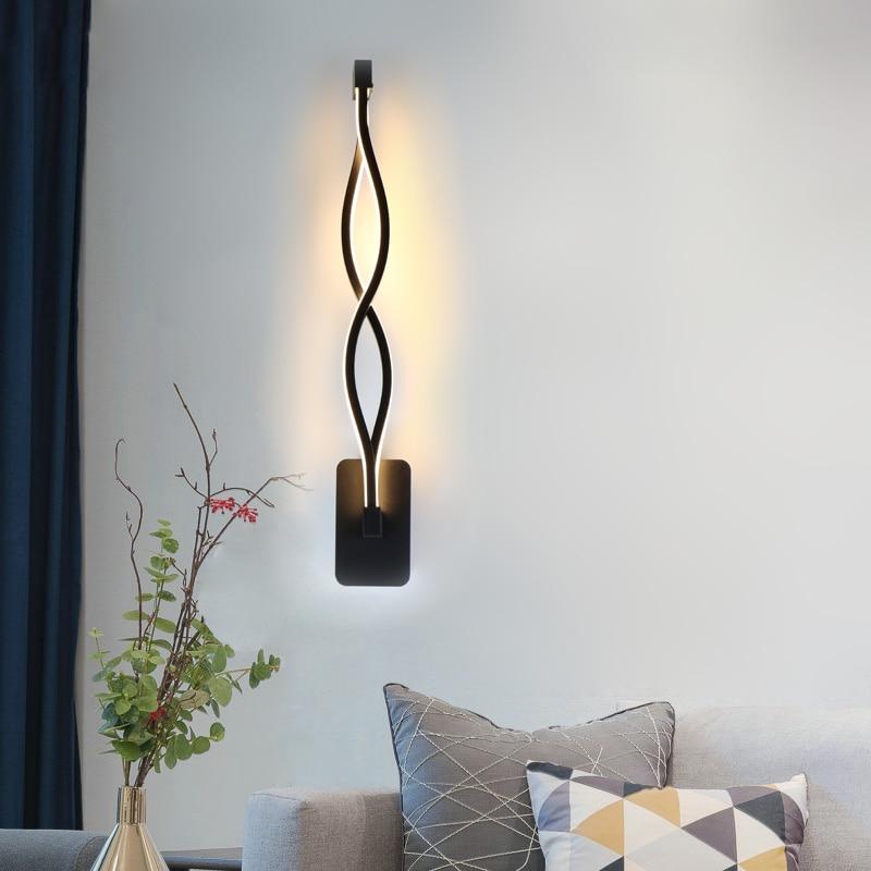 Realistic 5w Creative Led Wall Light Wall Lamp Modern Light Fixture Luminous Lighting Sconce Indoor Wall Decoration Led Indoor Wall Lamps Led Lamps