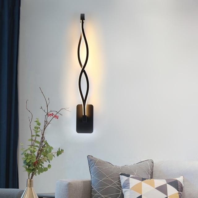Vertical LED Wall Light