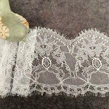 3 metros de rendas cílios, têxteis para o lar saco vestido handwork DIY manual de pano casa cortina decoração acessórios para meninas das senhoras