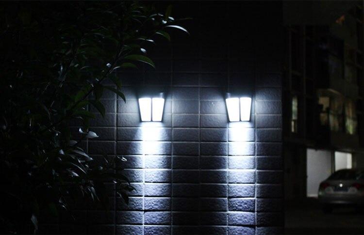 1 pçs led luz de parede controle
