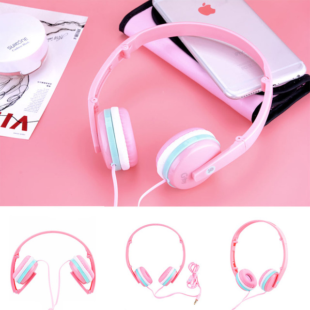 Earbuds with microphone magnetic - cute girl earbuds with microphone