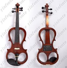 one red  4  -String 4/4 New Electric Acoustic Violin    #5-2514# ican make any color NEED REST and 4 STRING