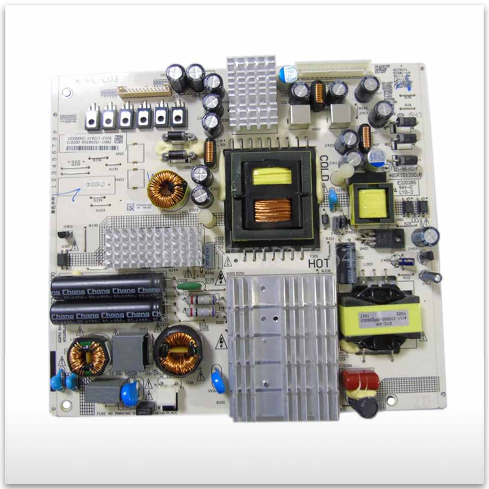 Used board Original 49PUF6055 LE49D88 power supply board 4702-2PLL03-A3131D01 K-PL-L03 465R1029 good working original used for power supply board led 42v800 le 42tg2000 le 32b90 vp168ug02 gp power board