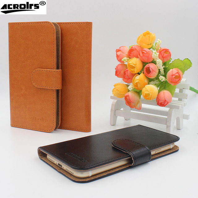 Hot! 2017 UMIDIGI S2 Case, 6 Colors High quality Full Flip Customize Leather Exclusive Cover For UMIDIGI S2