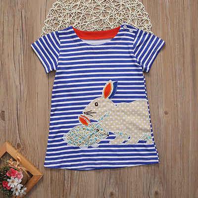 Милое детское платье для маленьких девочек; летнее платье-пачка в черно-белую полоску с рисунком кролика; милое платье-пачка для девочек
