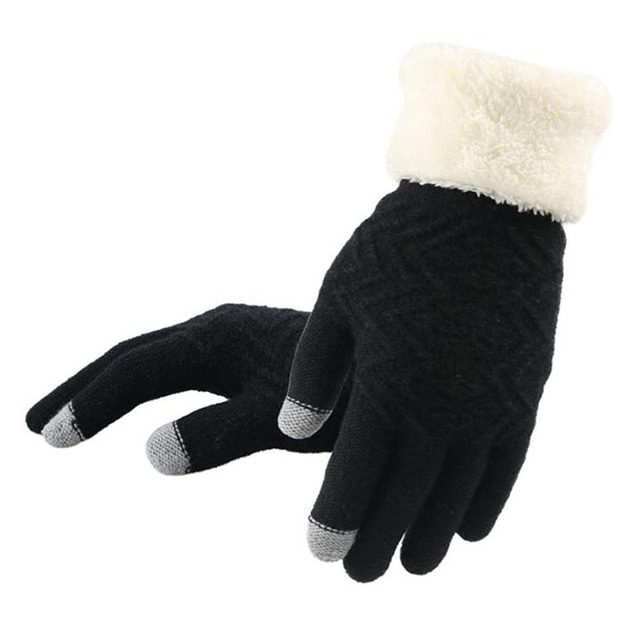 Winter Warm Knitted Gloves...