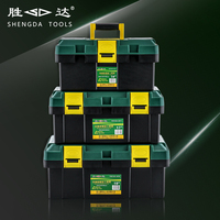 Multi Function Plastic Tool Box 14 Inch 17 Inch 19 Inch With A Tray Portable Toolbox