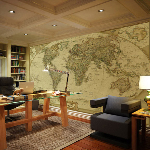 Obamas choice world map wall mural classic photo wallpaper worthy obamas choice world map wall mural classic photo wallpaper worthy collection wall print decal office decor gumiabroncs Gallery