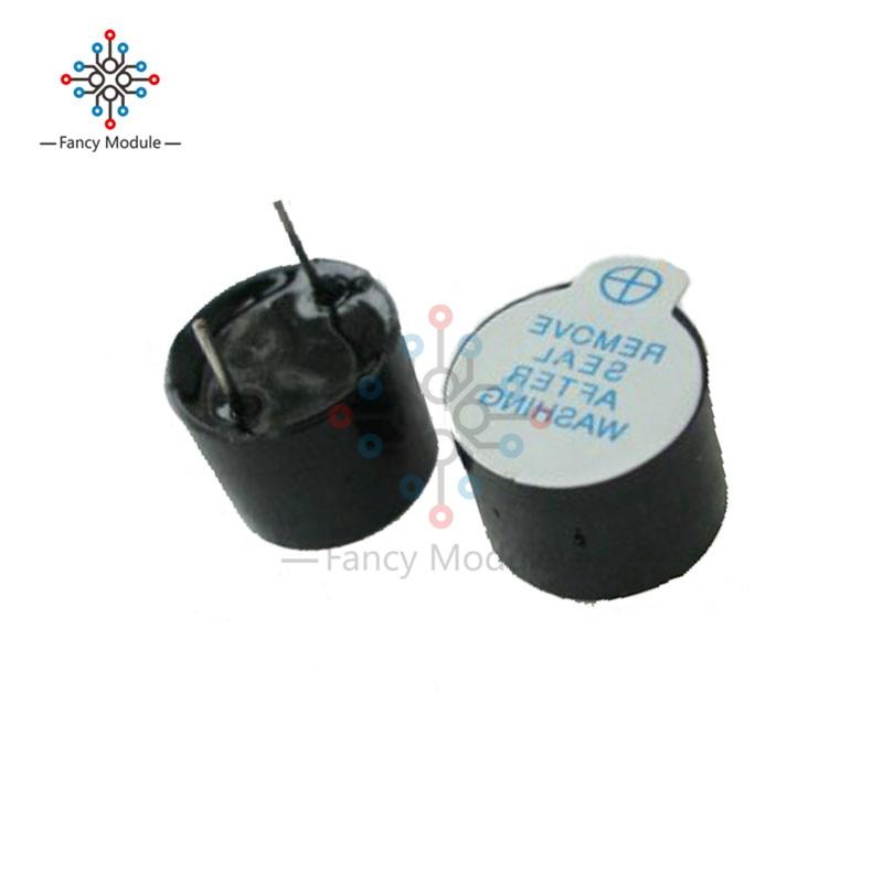цена на 10pcs 5v Active Buzzer Magnetic Long Continous Beep Tone Alarm Ringer 12mm MINI Active Piezo Buzzers Fit For Arduino