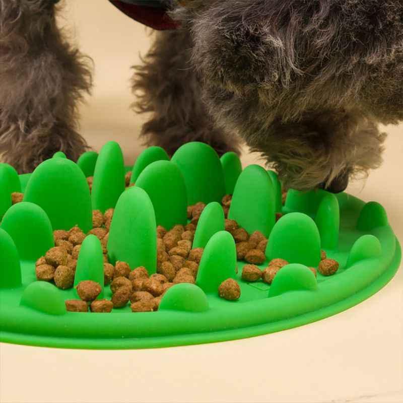 Качественная головоломка для собак и кошек, миска для еды, антидроссель, медленный Фидер для кормления, миска для еды, Интерактивная подача, чаши для кошек и собак